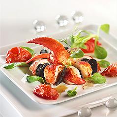 photo-recette-cuisine-ronde-de-homard-et-truffes-aux-tomates-confites