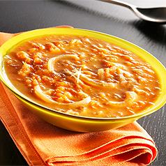 photo recette de cuisine soupe de courge au gingembre
