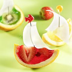 photo recette de cuisine : petits bateaux en gelée