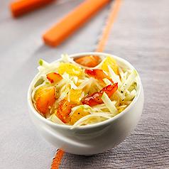 Photo recette dietetique : salade de fenouils au haddock
