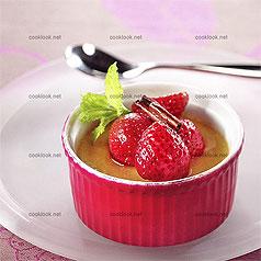stylisme-culinaire-flan-fraises